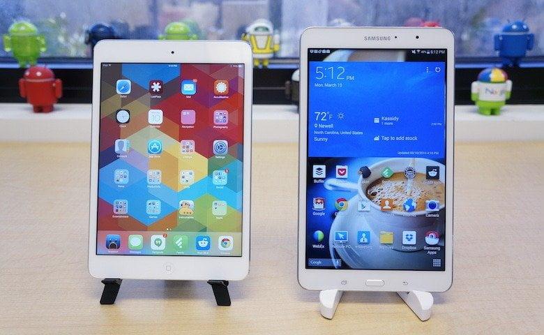 Galaxy Tab 8.4 vs iPad Mini