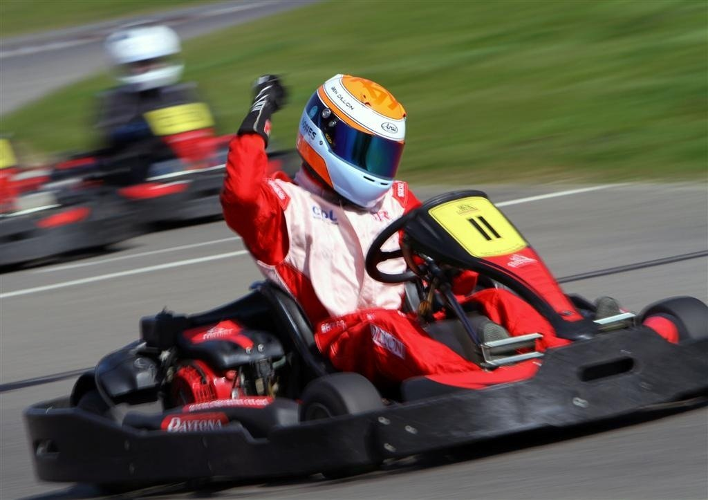 bien conduire karting