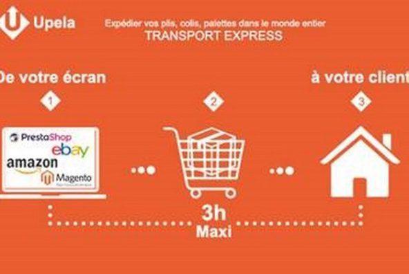 Des livraisons en moins de 3 heures avec Upela !