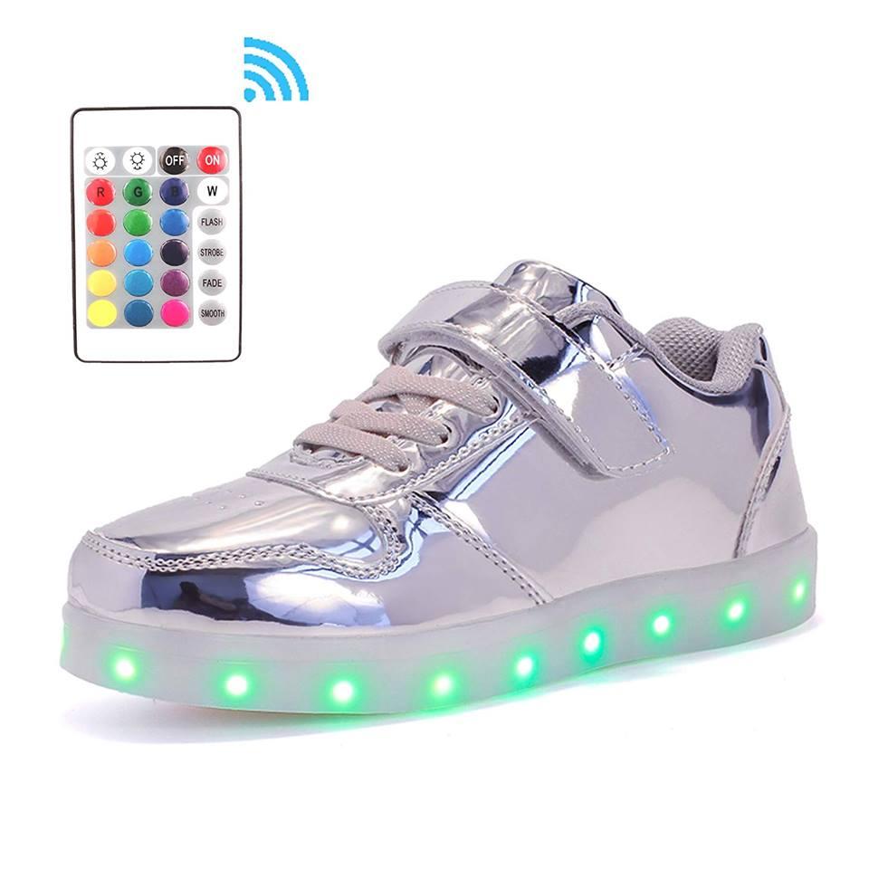 Chaussure lumineuse application