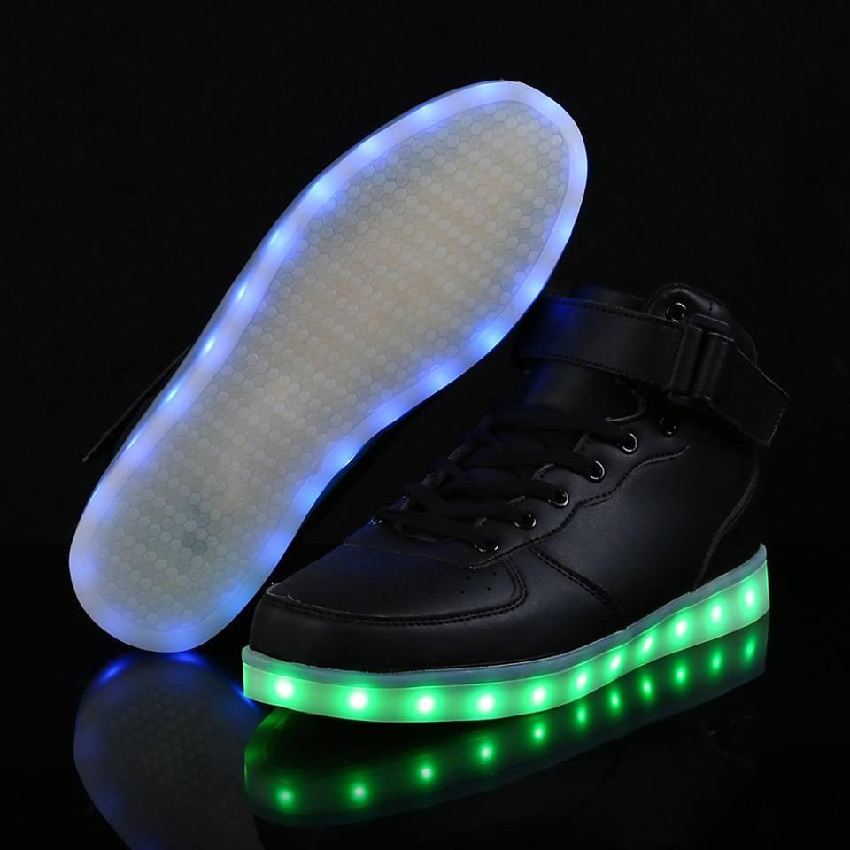 Chaussure lumineuse