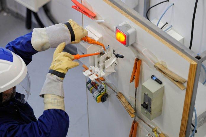 métier électricien