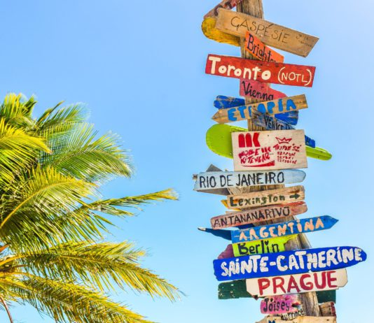 voyager partout dans le monde