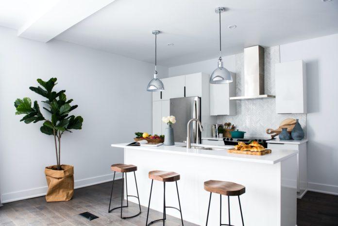 rénovation de cuisine blanche