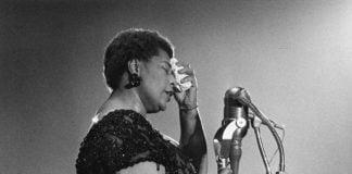 Ella Fitzgerald en concert à Amsterdam en 1961