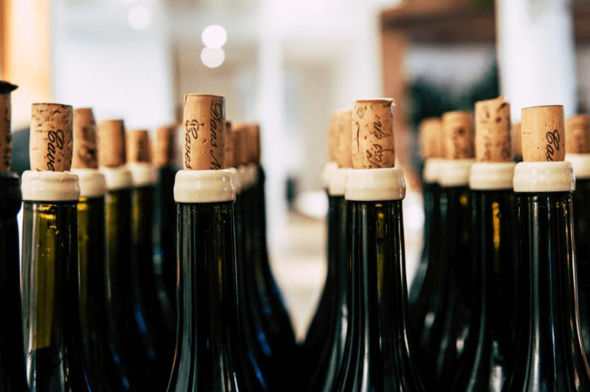 fermer bouteilles de vin